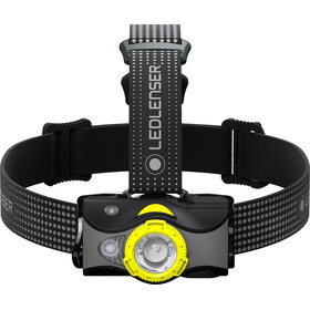 Led Lenser MH7 Faro Delantero, black/yellow